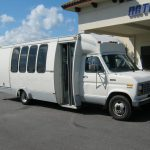 Ford E350 20 passenger charter shuttle coach bus for sale - Gas 1