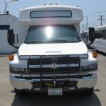 Chevy C5500 30 passenger charter shuttle coach bus for sale - Propane 2