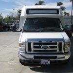 Ford E450 25 passenger charter shuttle coach bus for sale - Diesel 2