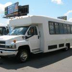 Chevy C5500 24 passenger charter shuttle coach bus for sale - Diesel 2