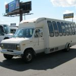 Ford E350 20 passenger charter shuttle coach bus for sale - Gas 2