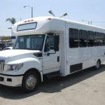 International UC 30 passenger charter shuttle coach bus for sale - Diesel 3