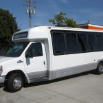 Ford E450 25 passenger charter shuttle coach bus for sale - Diesel 3