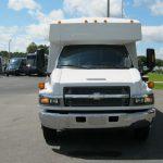 Chevy C5500 24 passenger charter shuttle coach bus for sale - Diesel 3