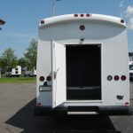 Freightliner M2 37 passenger charter shuttle coach bus for sale - Diesel 4