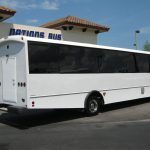 Freightliner M2 37 passenger charter shuttle coach bus for sale - Diesel 5
