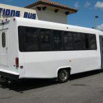 Chevy C5500 24 passenger charter shuttle coach bus for sale - Diesel 5