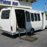 Ford E350 20 passenger charter shuttle coach bus for sale - Gas 5