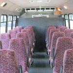 Chevy C5500 24 passenger charter shuttle coach bus for sale - Diesel 6