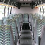 Ford F550 28 passenger charter shuttle coach bus for sale - Diesel 6