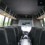 Ford F550 28 passenger charter shuttle coach bus for sale - Diesel 7