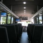 Freightliner M2 37 passenger charter shuttle coach bus for sale - Diesel 7