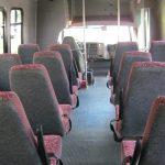Chevy C5500 24 passenger charter shuttle coach bus for sale - Diesel 7