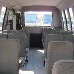 Ford E350 20 passenger charter shuttle coach bus for sale - Gas 6