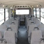 Chevy C5500 30 passenger charter shuttle coach bus for sale - Propane 6