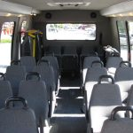 Ford E450 25 passenger charter shuttle coach bus for sale - Diesel 7
