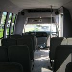 Ford E350 20 passenger charter shuttle coach bus for sale - Gas 7