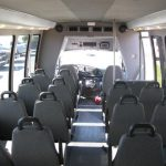 Ford E450 25 passenger charter shuttle coach bus for sale - Diesel 8