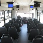 International UC 30 passenger charter shuttle coach bus for sale - Diesel 7