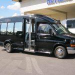 GM C3500 13 passenger charter shuttle coach bus for sale - Gas 1