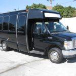 Ford E450 16 passenger charter shuttle coach bus for sale - Gas 1