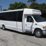 Ford E450 22 passenger charter shuttle coach bus for sale - Gas 1