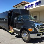 Ford F650 36 passenger charter shuttle coach bus for sale - Diesel 1