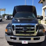 Ford F650 36 passenger charter shuttle coach bus for sale - Diesel 3