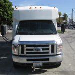 Ford E450 17 passenger charter shuttle coach bus for sale - Propane 2