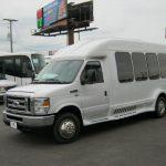 Ford E350 14 passenger charter shuttle coach bus for sale - Gas 2