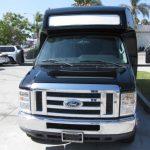 Ford E450 16 passenger charter shuttle coach bus for sale - Gas 2