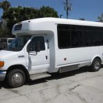 Ford E450 22 passenger charter shuttle coach bus for sale - Gas 2