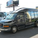 GM C3500 13 passenger charter shuttle coach bus for sale - Gas 3