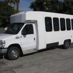 Ford E450 17 passenger charter shuttle coach bus for sale - Propane 3