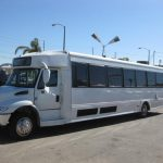 International 45 passenger charter shuttle coach bus for sale - Diesel 3