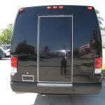 Ford E450 16 passenger charter shuttle coach bus for sale - Gas 4