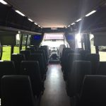 Ford F650 36 passenger charter shuttle coach bus for sale - Diesel 7