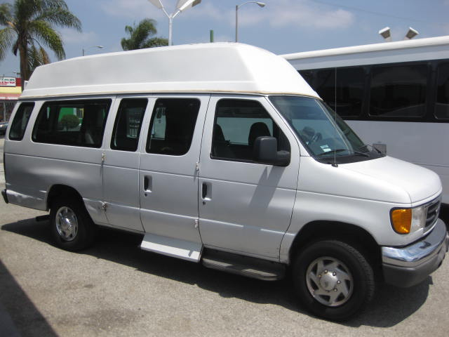 Ford E250 6 passenger charter shuttle coach bus for sale - Gas