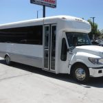 International UC 32 passenger charter shuttle coach bus for sale - Diesel 1