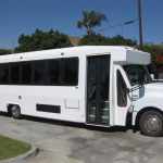 International UC 28 passenger charter shuttle coach bus for sale - Diesel 1