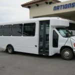 Ford E450 21 passenger charter shuttle coach bus for sale - Diesel 1