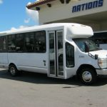 Ford E450 22 passenger charter shuttle coach bus for sale - Diesel 1