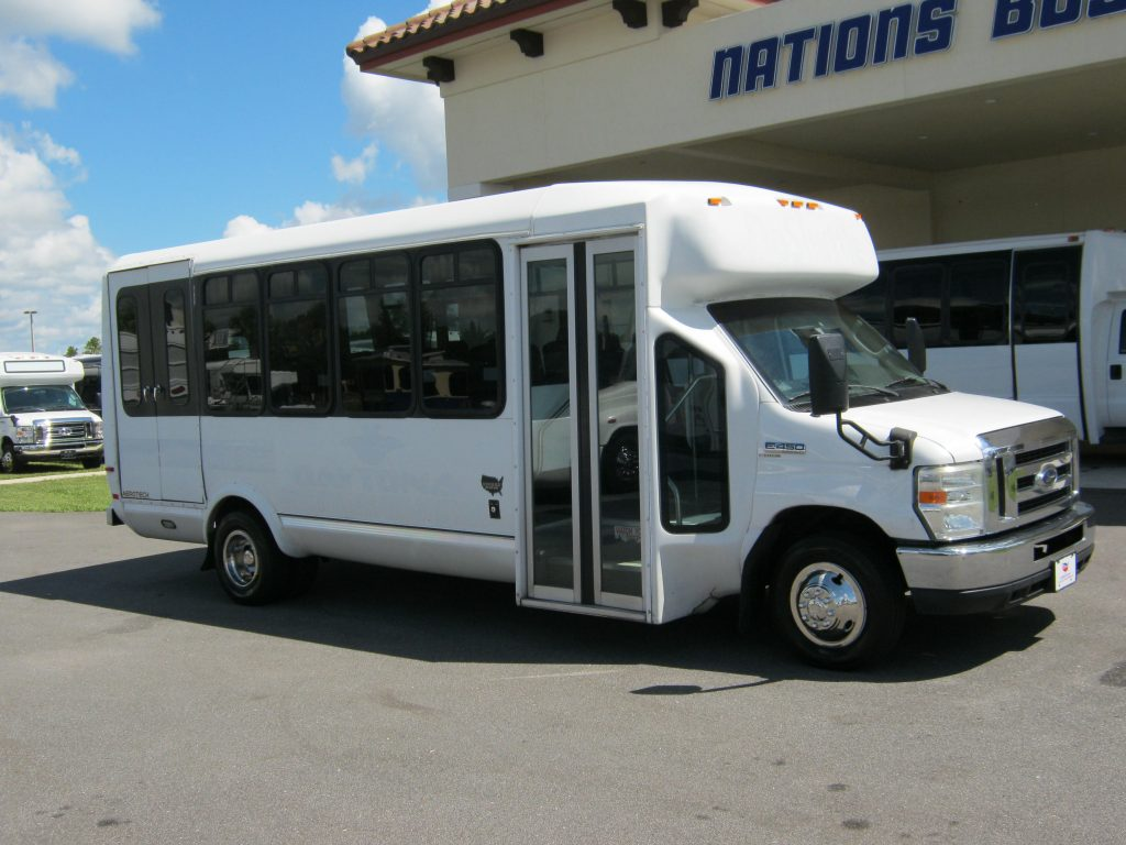 Ford E450 22 passenger charter shuttle coach bus for sale - Diesel