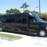 Ford F650 42 passenger charter shuttle coach bus for sale - Diesel 1