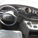 Ford E250 6 passenger charter shuttle coach bus for sale - Gas 8