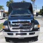 Ford F650 42 passenger charter shuttle coach bus for sale - Diesel 2