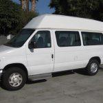 Ford E250 6 passenger charter shuttle coach bus for sale - Gas 3