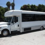International UC 32 passenger charter shuttle coach bus for sale - Diesel 3