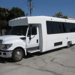 International UC 28 passenger charter shuttle coach bus for sale - Diesel 3