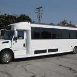 International TC 40 passenger charter shuttle coach bus for sale - Diesel 3